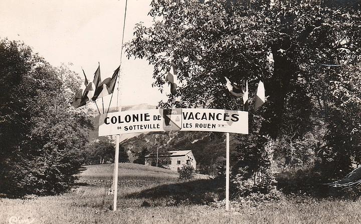 Colonie de vacances de Sotteville-lès-Rouen à Chezery dans l'Ain