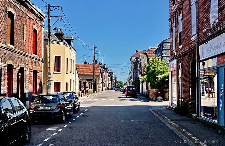 Rue de Trianon à Sotteville-lès-Rouen