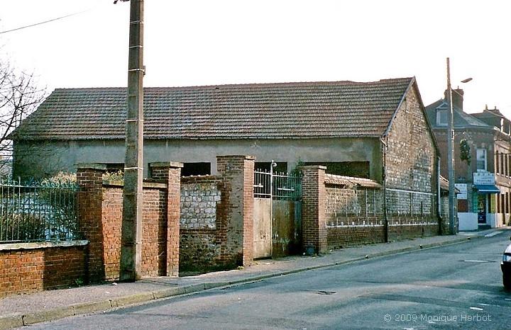 La salle des machines du puits Feugère) à Sotteville-lès-Rouen avant les travaux