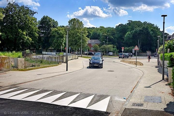Nouveau carrefour giratoire à Sotteville-lès-Rouen